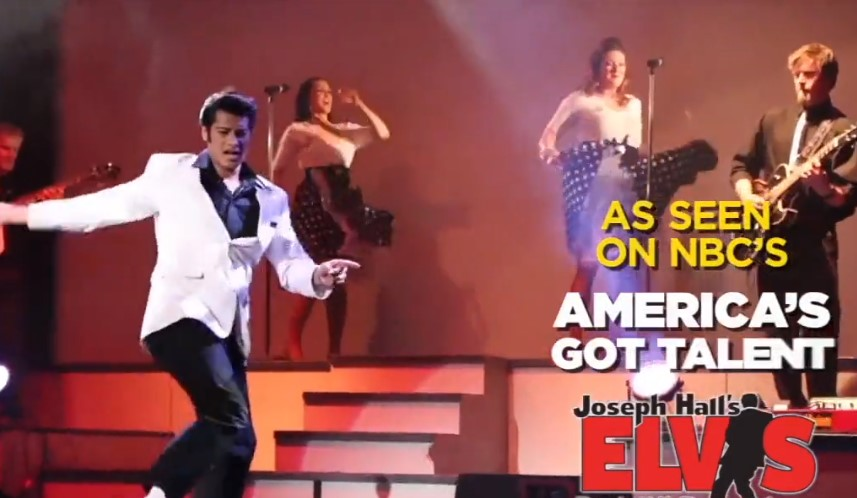 Elvis Tribute with Joseph Hall Norfolk